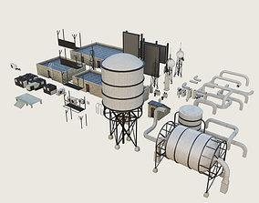 3D asset Building 7