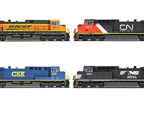 Locomotive 3D Models