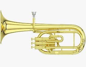 Alto Horn - Tenor Horn 3D