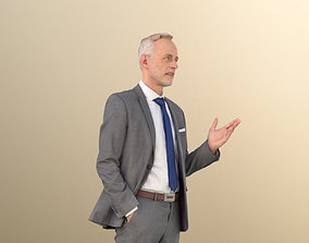 Jason 11321 - Elderly Business man explaining 3D asset 1