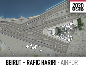 3D asset Beirut - Rafic Hariri International Airport -