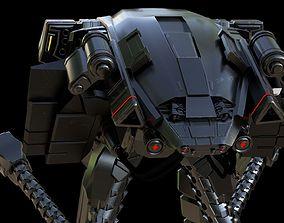 Sci-fi Robot 3D