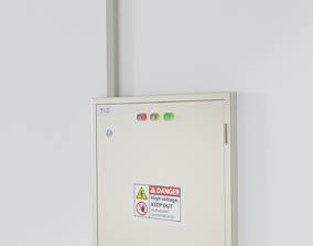 Electrical Control Box Panel 3D model