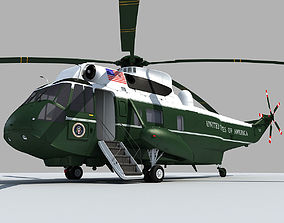 Marine One VH-3D Sea King sea