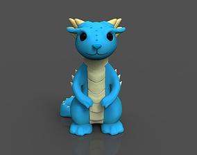 Dragon preschool 3D print model
