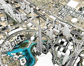 Business Bay Dubai United Arab Emirates 3D model