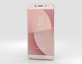 Samsung Galaxy J7 2017 Pink 3D