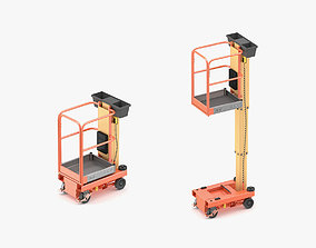 3D JLG 830P Push Around Mast Liff