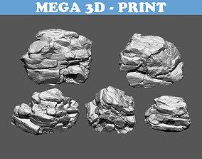 mountain board Rock 3D Model