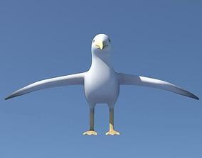 3D asset Seagull