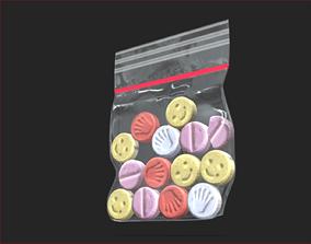 Simple Extasy Bag 3D asset