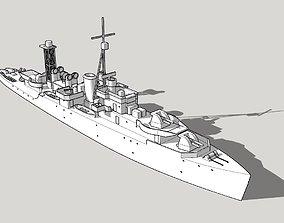 3D printable model Black Swan Class Sloop