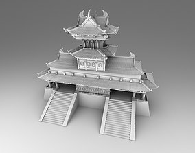 3D print model Chinese traditional house18