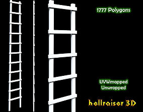 3D model low-poly Ladder