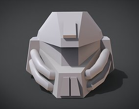 3D printable model AMF-101 DINN Head
