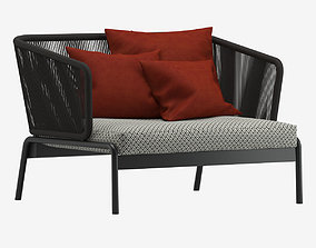 3D Roda Spool Sofa
