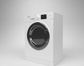 3D model Ariston Washer Hotpoint RST 602 K Blender Cycles