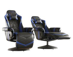RESPAWN Gaming Recliner RSP 900 BLUE 3D model