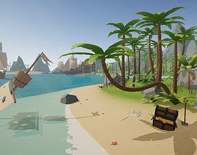 Nature Environment - Tropical 3D asset