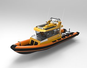 Patrol boat 3D