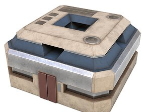 Sci Fi Base - PBR Game-Ready 3D model