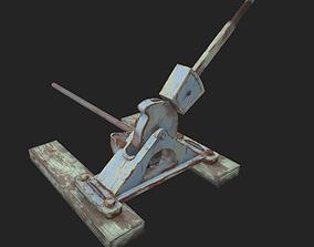 Railroad Switch 3D model