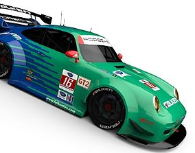 Porsche 911 GT2 1998 IMSA 3D model
