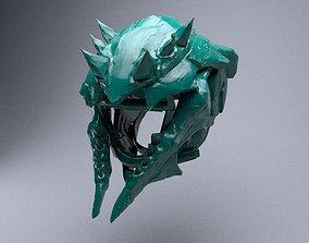 3D printable model Helmet THE HATEFUL WISH