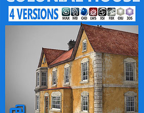 Realistic Old Building 3D model