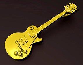 3D printable model Gibson LesPaul Pendant