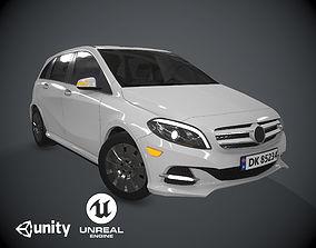 3D asset Mercedes Benz B Class Electric