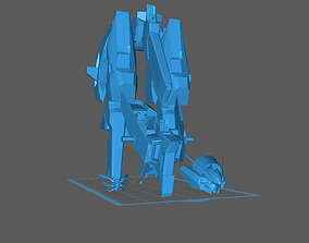 RX124 Gundam TR6 Woundwort 3D print model