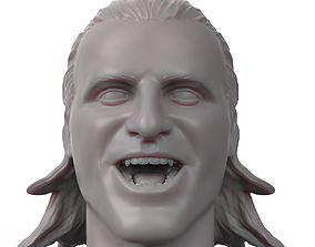 Owen Hart 3D printable portrait sculpture