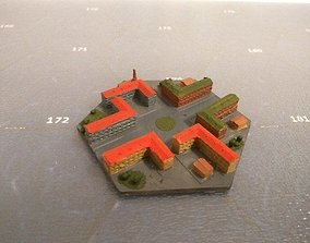 Hex City for 3D printing