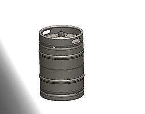 3D 16 Gallon Sanke Beer Keg