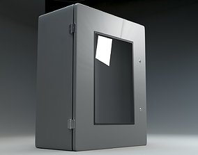 3D asset Commercial CH Windowed Utility Enclosure
