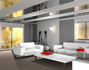 3D asset realtime Interior Design