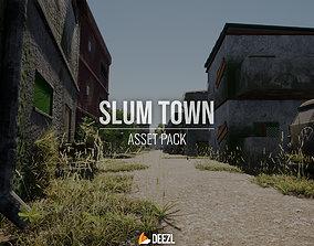Slum Town - Asset Pack - Unreal Engine UE4 low-poly