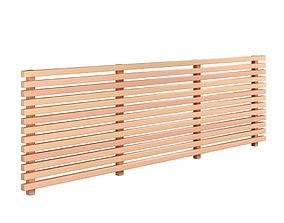 3D model Fence 02