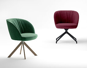 3D model Jardan Mina Meeting chair