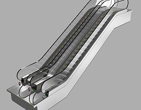 3d Escalator KONE Travelmaster 110 3D Model
