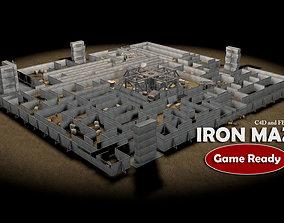 Iron Maze 3D asset