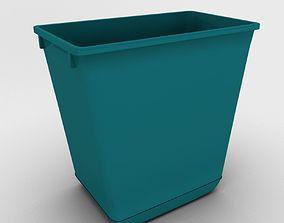 Wastebasket 02 3D asset