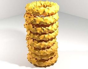 3D Fastfood - Onion Rings