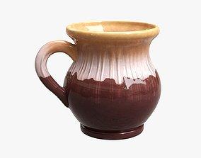 Ceramic jug vintage small 3D model