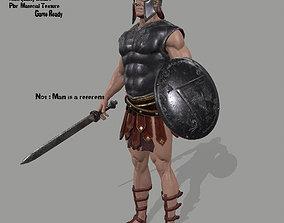 Rome Worrior armor 3D asset