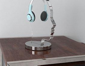 3D model headphones 35 am156