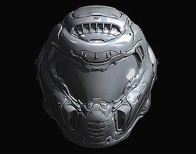 Doom Slayer Eternal helmet 3D printable model