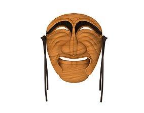 3D Hahoe mask