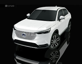 3D model low-poly Honda HR-V 2022